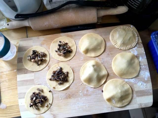 verse, gevulde pasta