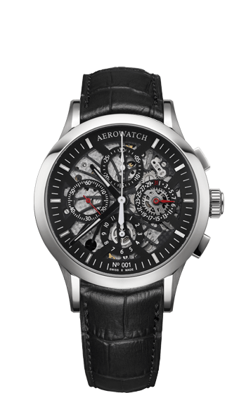 Aerowatch Les Grandes Classiques Skeletonised Chronograph Automatic