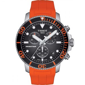 Tissot Seastar Chrono Orange