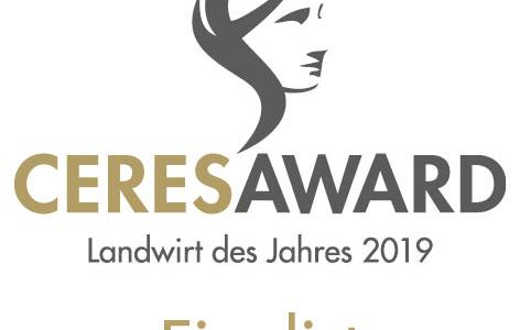 Ceres Award 2019 – Andreas Dörr als Finalist im Bereich Ackerbau