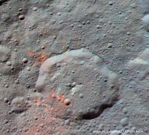 Ceres Organic Material. Life on Ceres?
