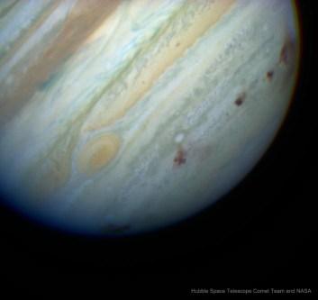 Jupiter Comet Shield and October Meteor Showers
