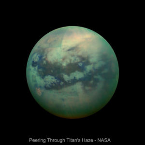 Titan Studies Verify Earth's Uniqueness