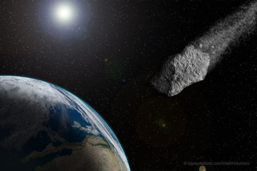 Earth's Atmospheric Shield Protects Against Meteoroids