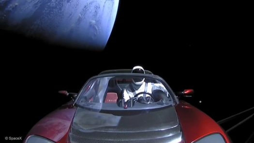 Driving to Mars