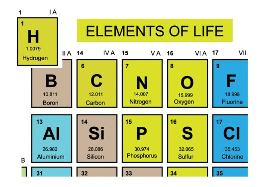 Electrons Are Essential in the Elements of Life