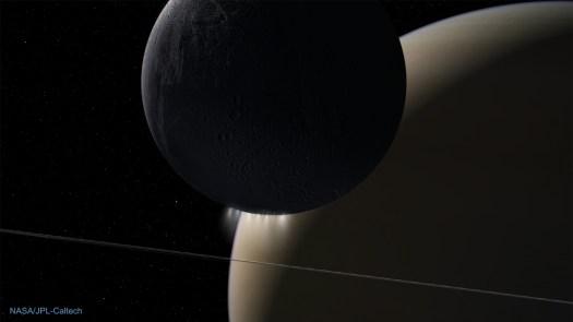 Life Chemical Factory on Enceladus