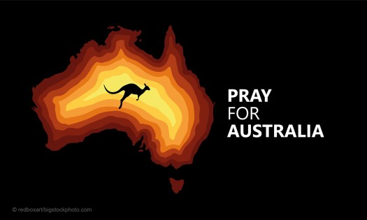 Fires in Australia and God