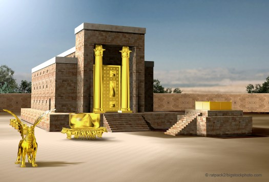 The Christian Temple and the Jewish Temple