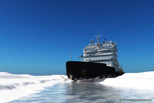 North Pole Ice Melting