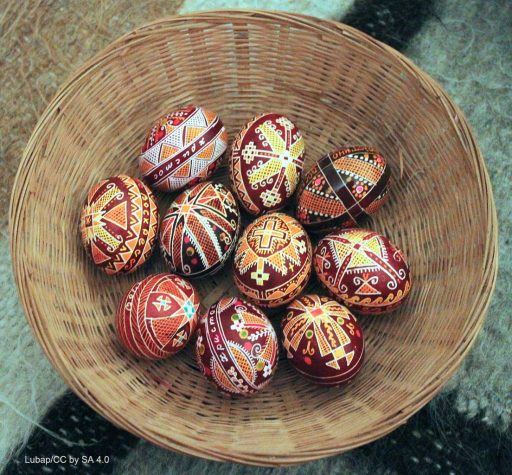 Symbols for Communication - Ukrainian Pysanky