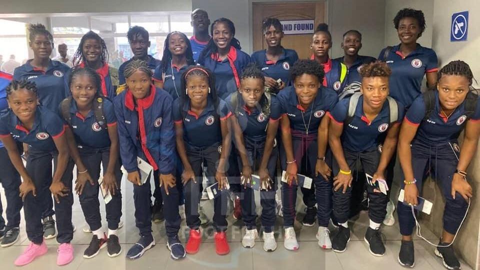 La sélection haïtienne féminine sénior a quitté le pays ce mardi en direction des États-Unis
