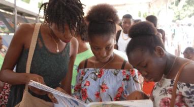 «Livres en folie», le plus grand rendez-vous du livre en Haïti