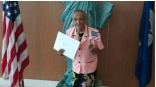 Une Jacmélienne devenue citoyenne américaine à 103 ans!
