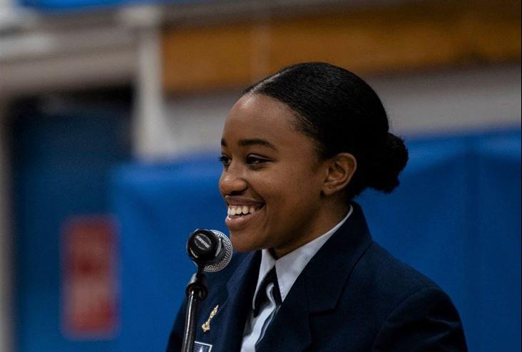 Naissa Lindsey Pierre, Commandant de Régiment de l'USCGA