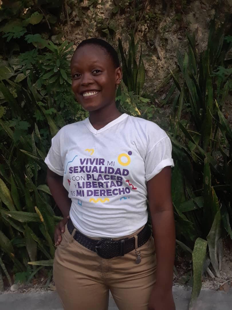 Entrevue spéciale avec Mathania Charles, lauréate du concours ʺJeune, je m'engage pour la santé sexuelle ˮ