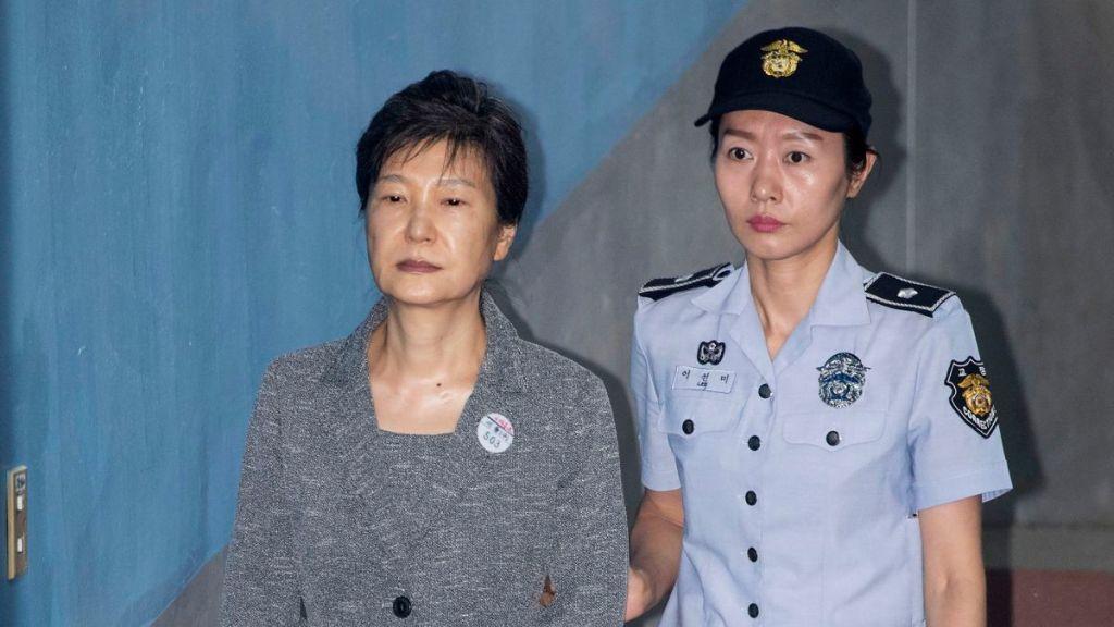 La condamnation de l'ancienne-présidente sud-coréenne est confirmée