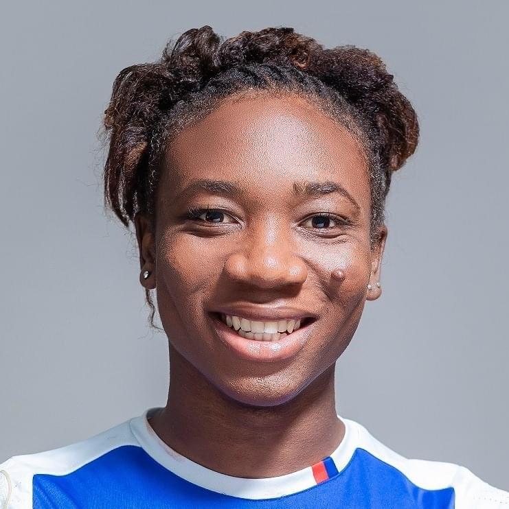 Melchie Daelle Dumornay alias Corventina classée 5ème meilleure jeune footballeuse du monde