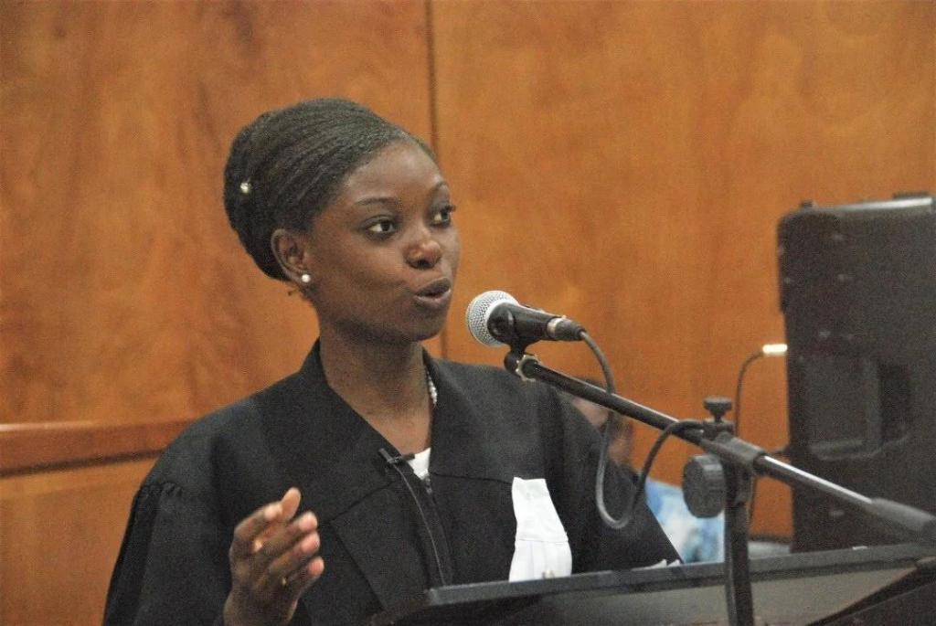 Une Haïtienne aux demi-finales du concours d'éloquence de l'université Paris 1 Panthéon-Sorbonne