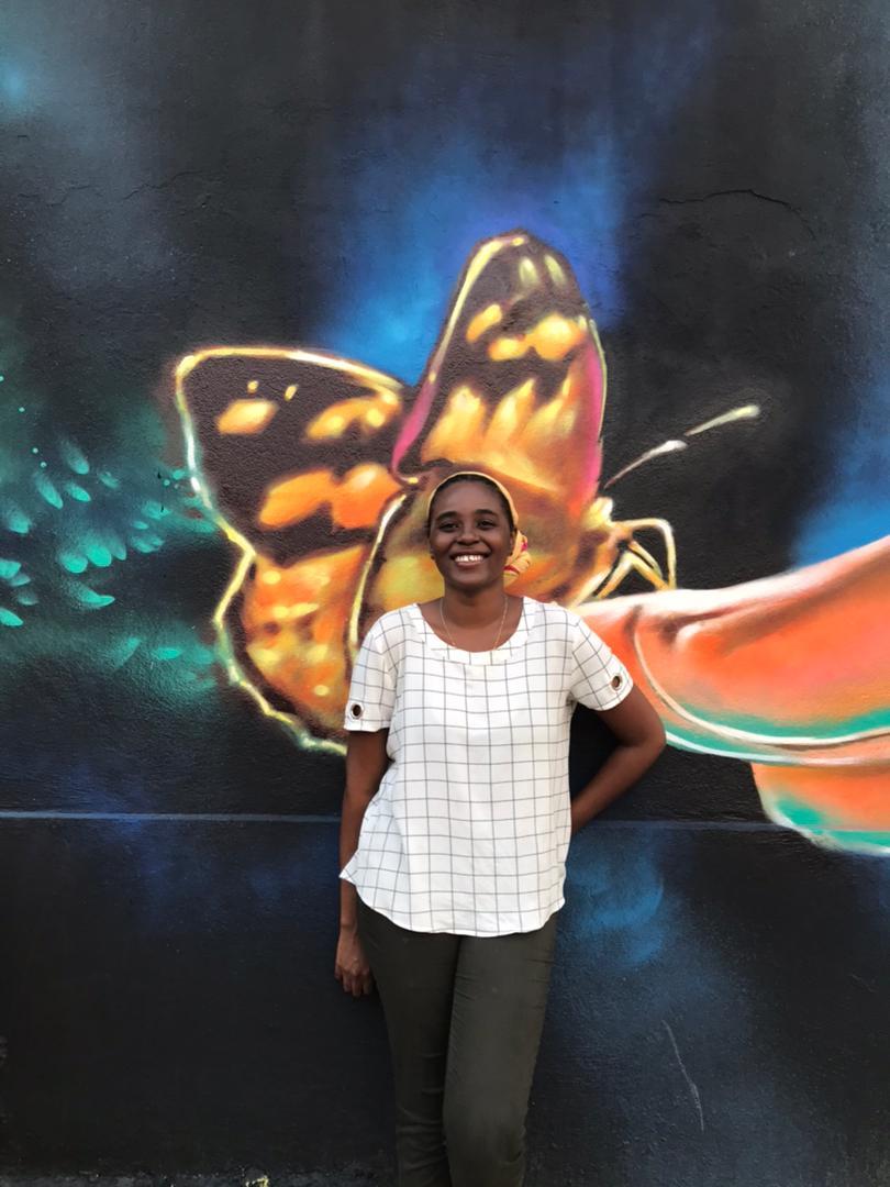 Il y a de la place pour les femmes dans le domaine du graffiti dixit Geyane Michel