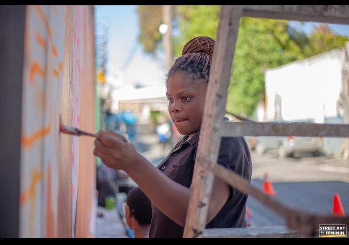 Street Art au Féminin rime avec perfection selon Lourdes-Millard Estimé