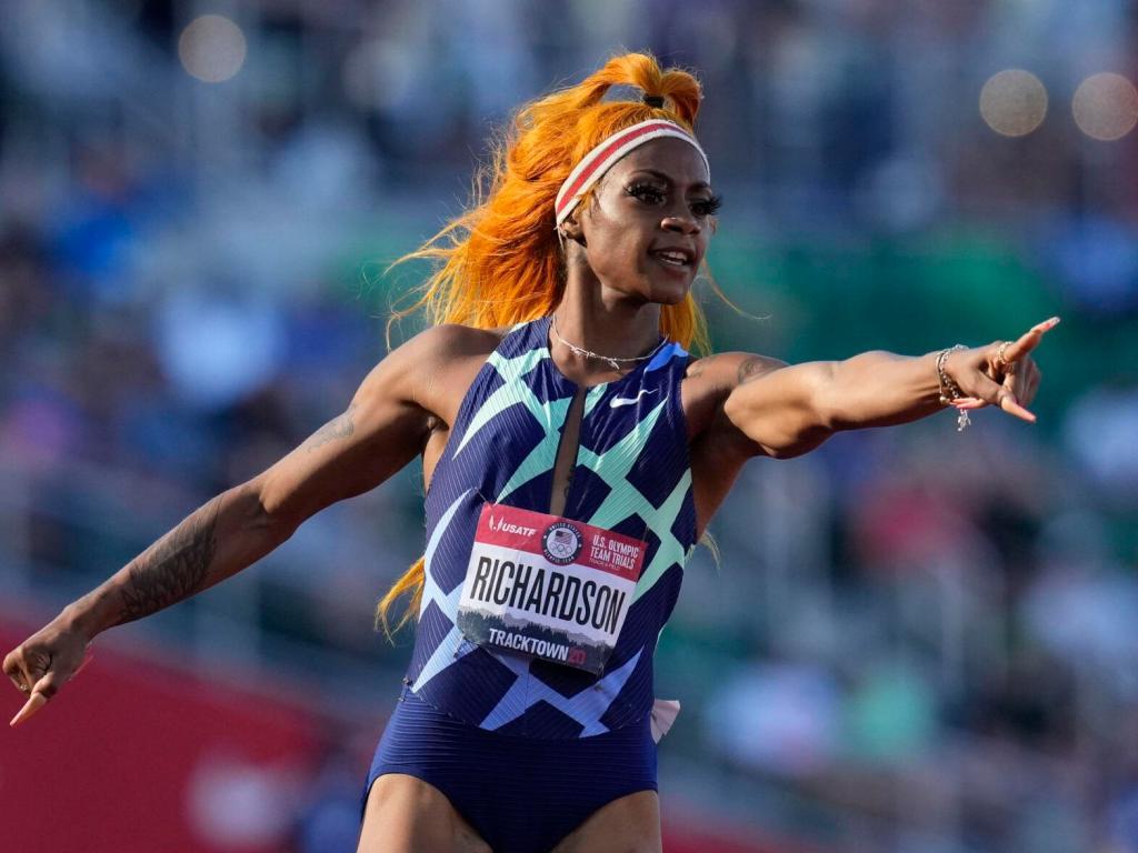 Quoiqu'endeuillée, Sha'Carri Richardson obtient sa qualification pour les JO 2021