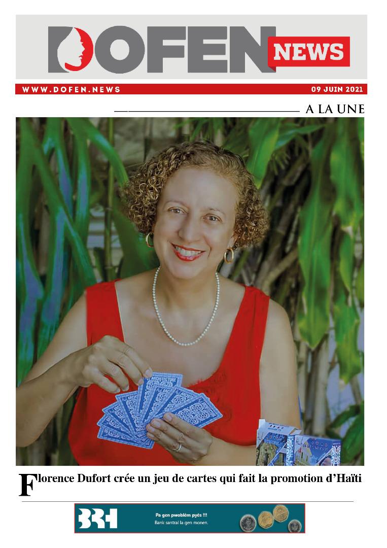 Florence Dufort crée un jeu de cartes qui fait la promotion d'Haïti