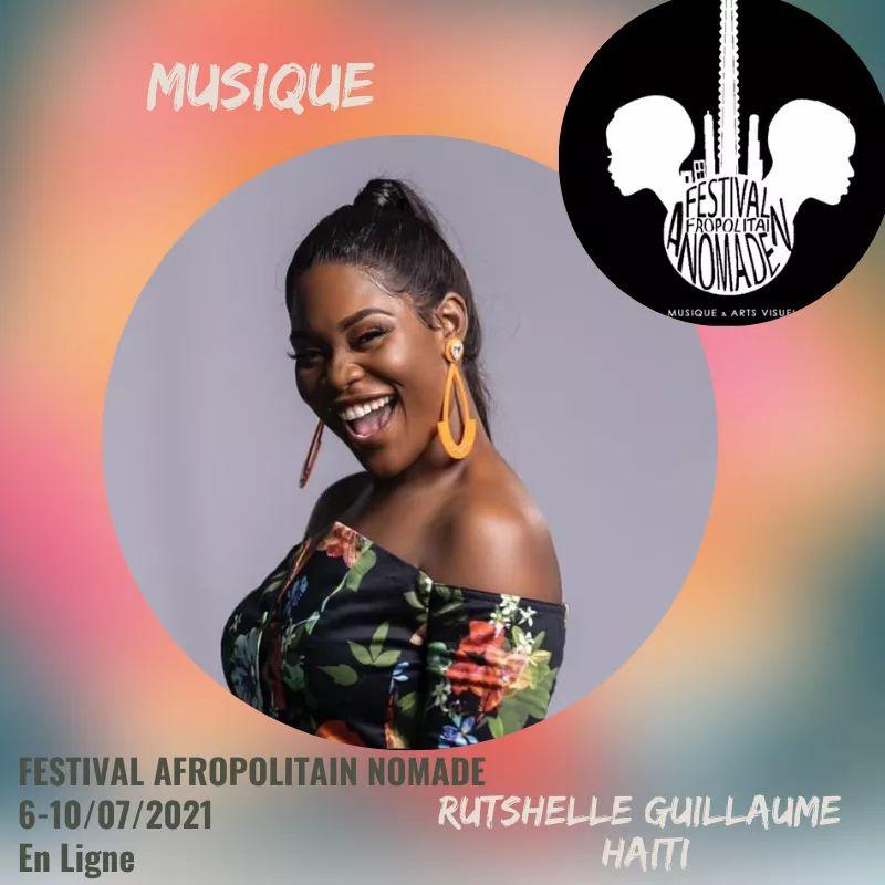 Rutshelle Guillaume à l'affiche de la 7e édition du Festival Afropolitain Nomade