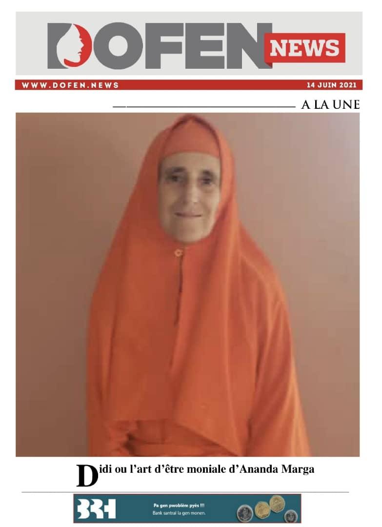 Didi ou l'art d'être moniale d'Ananda Marga