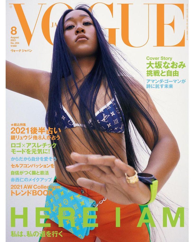 Quand Naomi Osaka signe son comeback avec une couverture de Vogue Japan