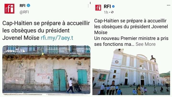 Quand les Haïtiens lapident RFI pour une question d'image