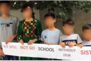 Les filles exclues de la rentrée scolaire par le gouvernement Taliban