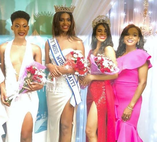 Erlande Berger se nouvèl Miss World Haiti 2021