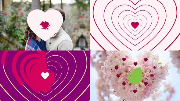 Minimal Heart Logo Intro