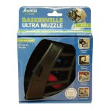 Baskerville 8-1/2-Inch Rubber Ultra Muzzle, Size-5, Black