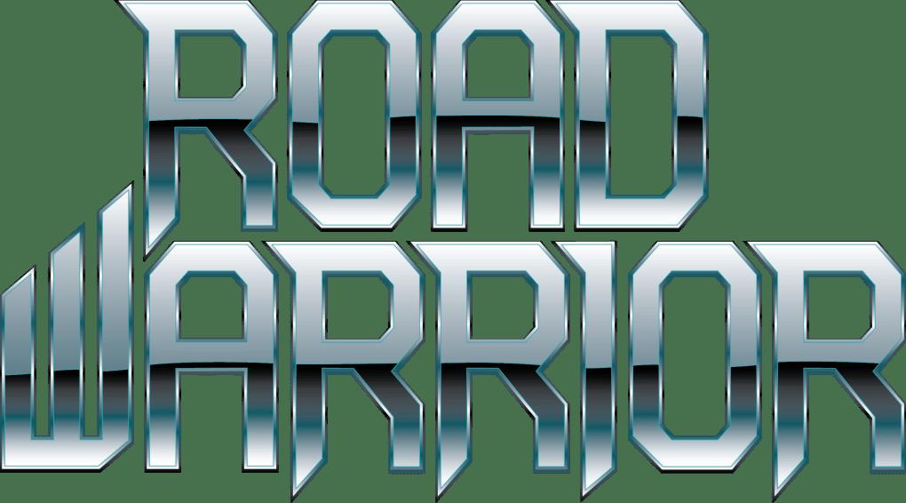 Road Warrior logo chrome