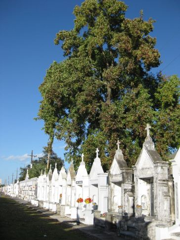 More recent cemetery