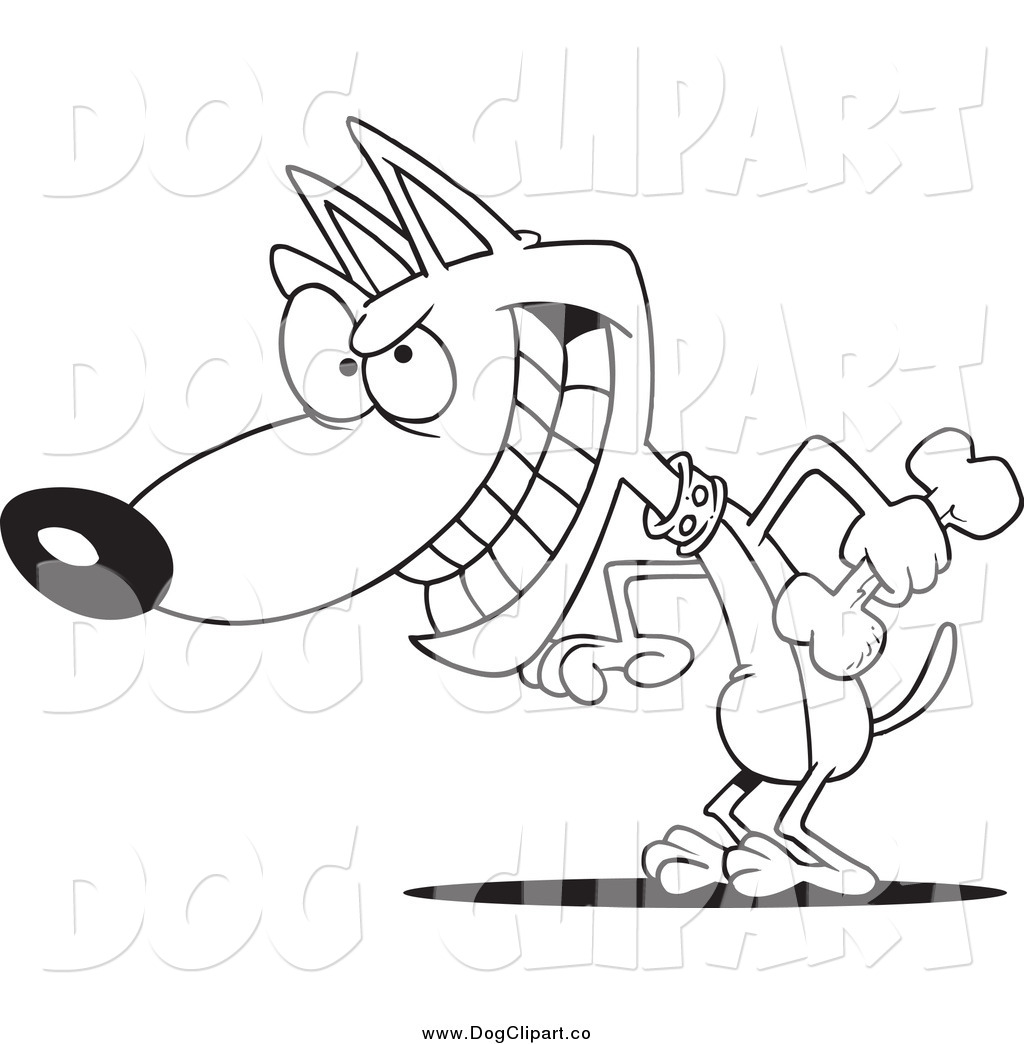 Cartoon Puppy Clip Art Black And White Pictures To Pin On
