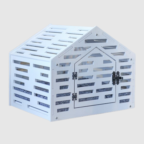 Indoor Dog House Solid Wooden Crate