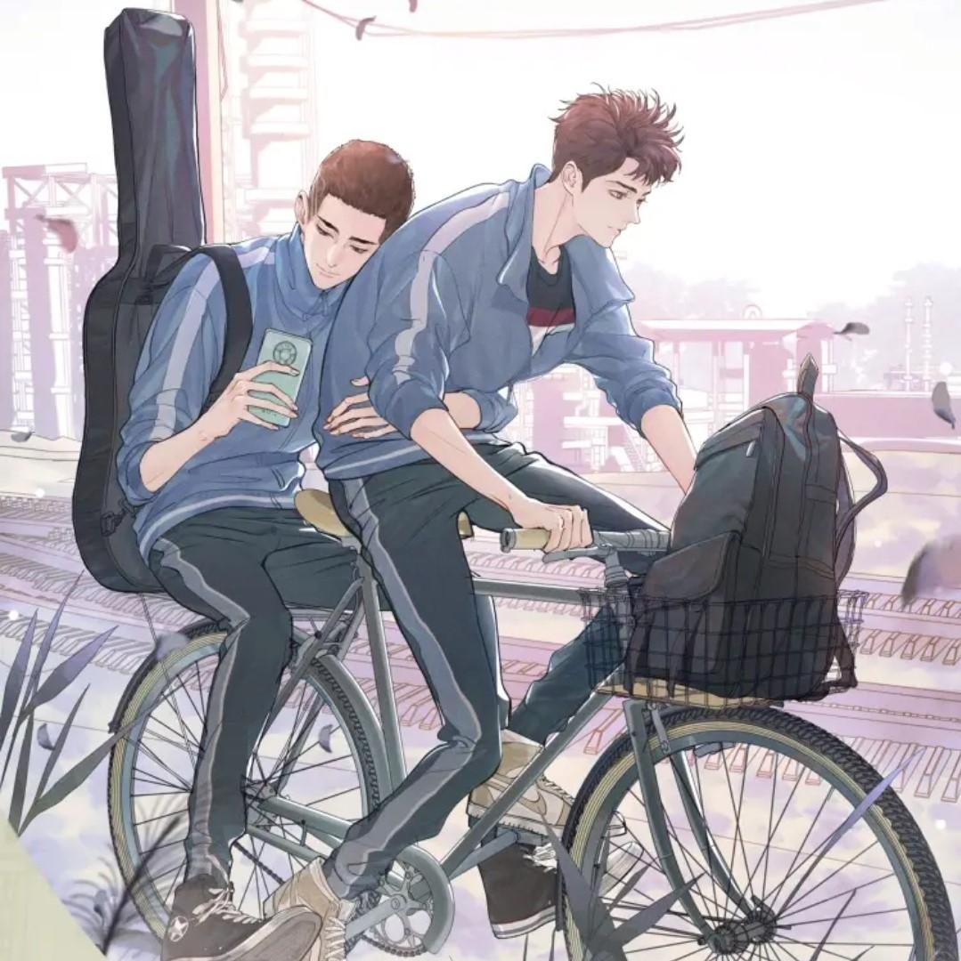 Official manhua cover art