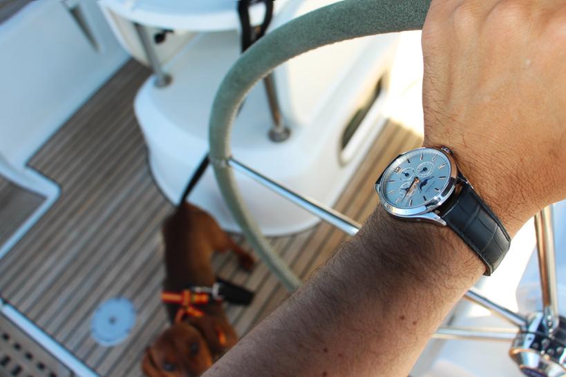 Navengando con MONTBLANC, Heritage Chronometrie.