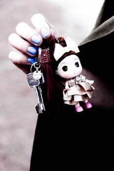 Las llaves de su nuevo hogar.