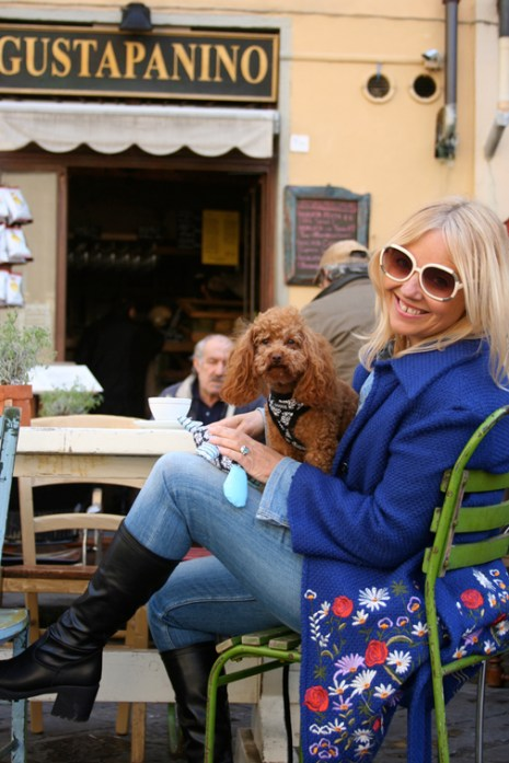 Simone, creadora de DOGUE, en Florencia.