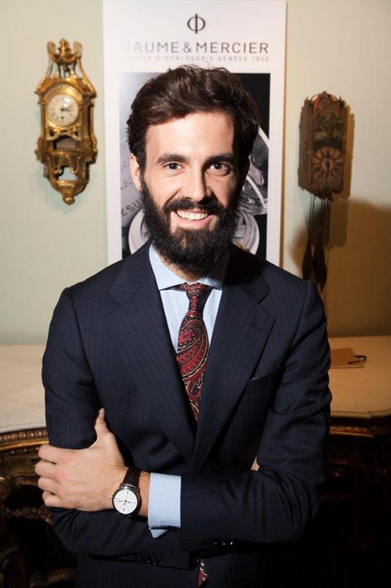 Enrique Solís durante el lanzamiento de la colección Classima.