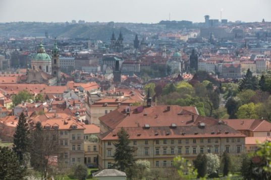 colina Hradcany.