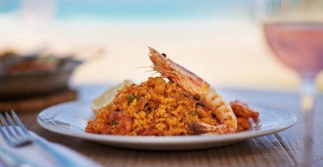 Paella del Sea Grill.