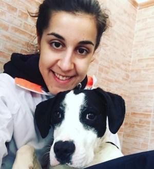 Kira y Carolina Marín. Foto: @caro_marin93
