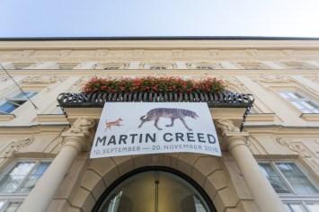 Exposición de Martin Creed en el palacio Taxis.