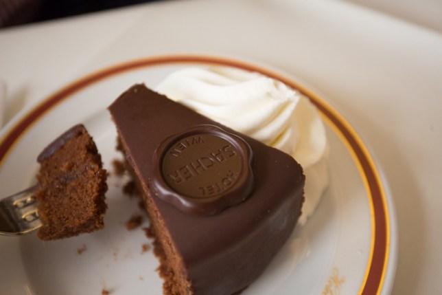 Original Sacher-Torte, mi tarta preferida.