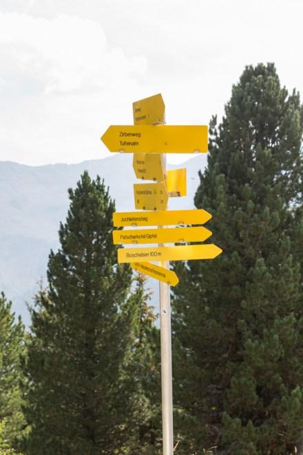 A más de 2.000 metros hay varias rutas para elegir.
